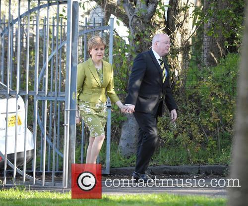 Nicola Sturgeon and Peter Murrell 3
