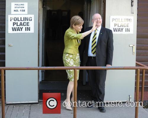 Nicola Sturgeon and Peter Murrell 9