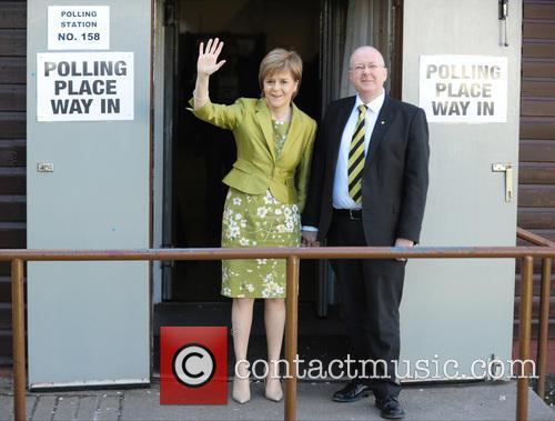 Nicola Sturgeon and Peter Murrell 10