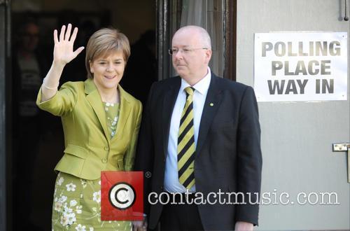 Nicola Sturgeon and Peter Murrell 11