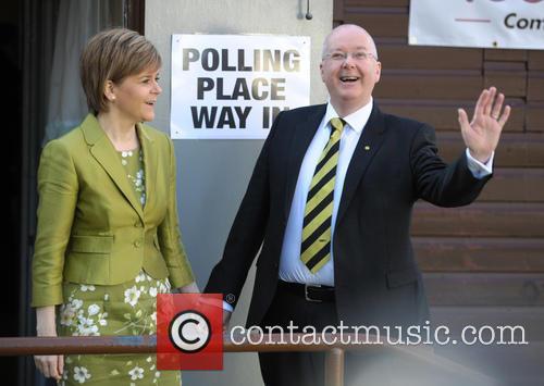 Nicola Sturgeon and Peter Murrell 1