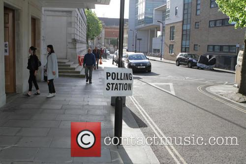 Polling Station and Hackney Town Hall 5