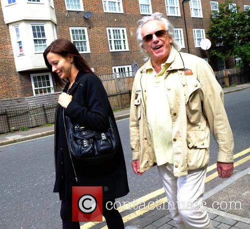 Peter Stringfellow and Bella Wright 2