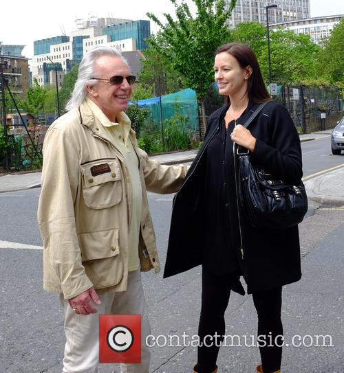 Peter Stringfellow and Bella Wright 1