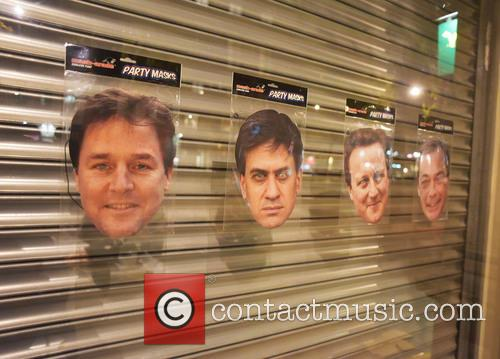Masks Of The Election and Candidates 1