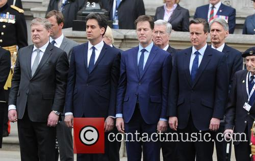Ed Miliband, Nick Clegg and David Cameron 8
