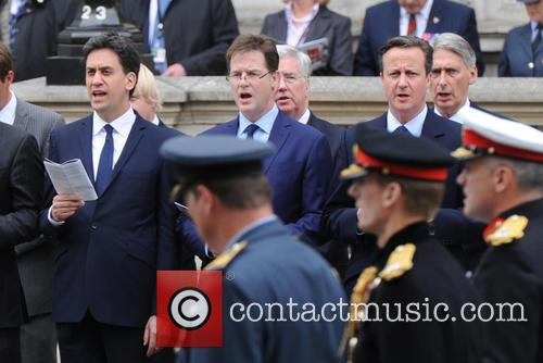 Ed Miliband, Nick Clegg and David Cameron 10