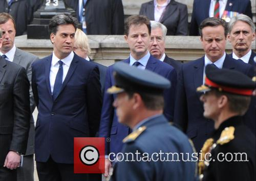 Ed Miliband, Nick Clegg and David Cameron 11