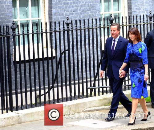 David Cameron and Samantha Cameron 3