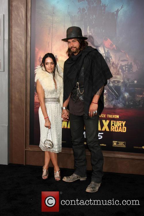 Lisa Bonet and Jason Momoa 3