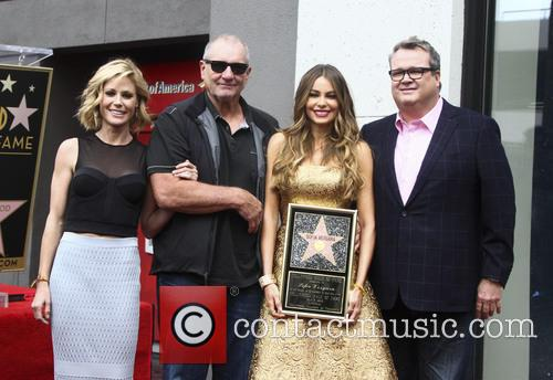 Sofia Vergara honored on The Hollywood Walk of...