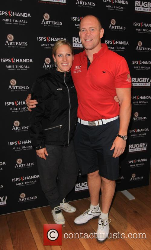 Mike Tindall and Zara Philips 3