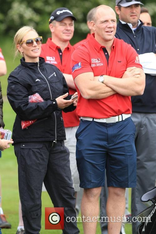 Zara Philips and Mike Tindall 6