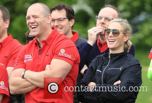 Zara Philips and Mike Tindall 9