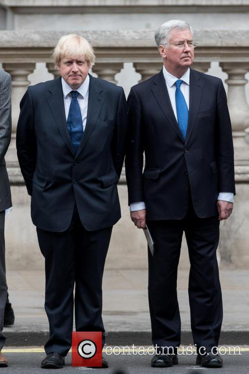 Boris Johnson and Michael Fallon 8