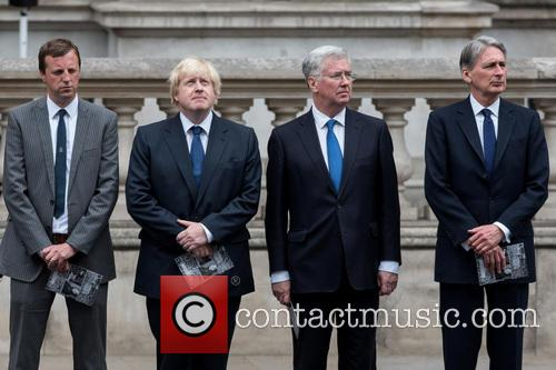 Boris Johnson, Michael Fallon and Philip Hammond 9