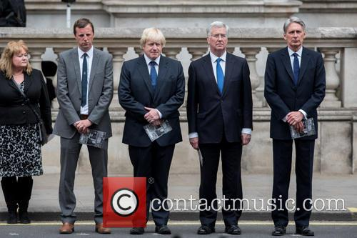 Boris Johnson, Michael Fallon and Philip Hammond 10