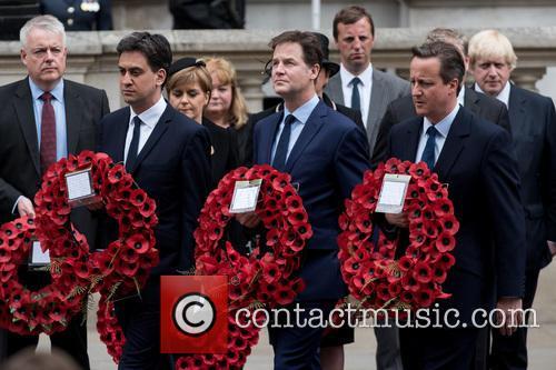 Ed Miliband, Nick Clegg and David Cameron 4