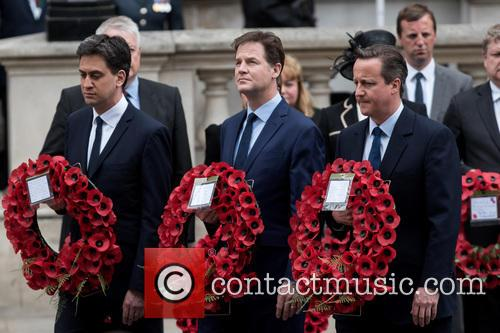 Ed Miliband, Nick Clegg and David Cameron 6