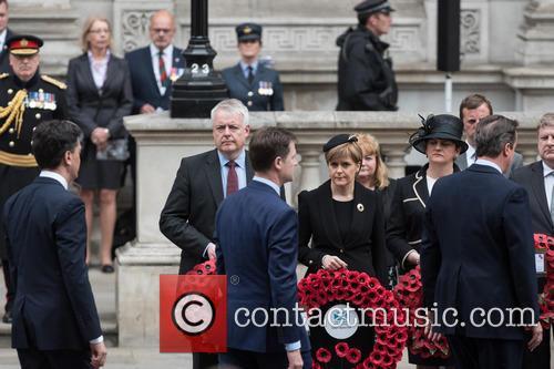 Ed Miliband, Nick Clegg, David Cameron and Nicola Sturgeon 10