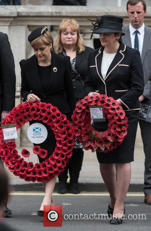 Nicola Sturgeon and Leanne Wood 7