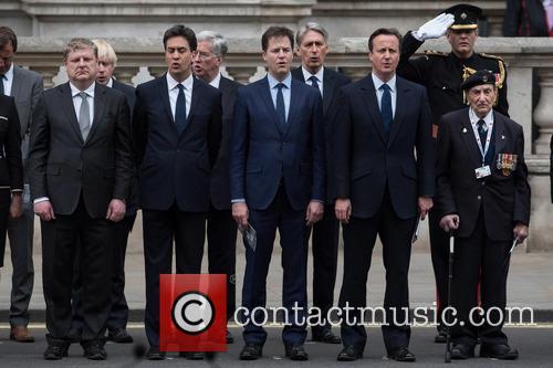 Ed Miliband, Nick Clegg and David Cameron 11