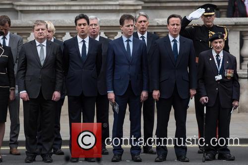 Ed Miliband, Nick Clegg and David Cameron 1