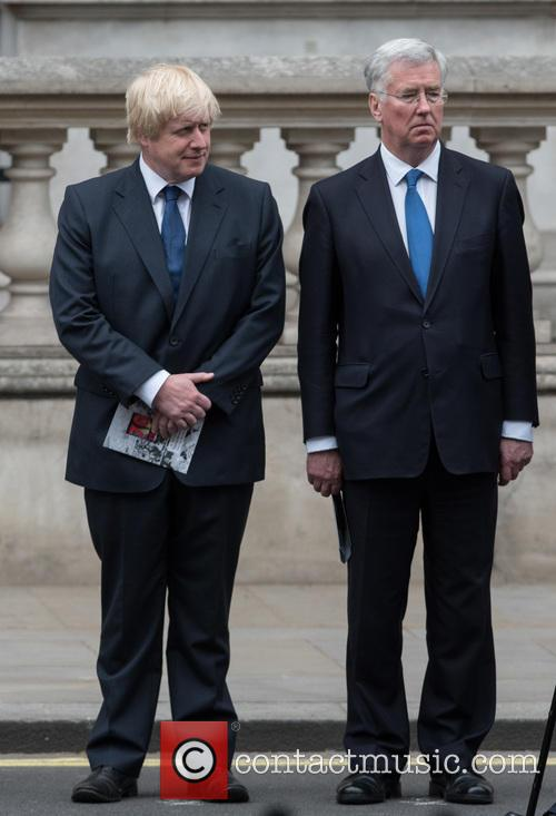 Boris Johnson and Michael Fallon 11