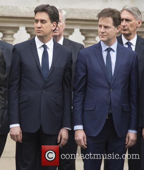 Ed Miliband and Nick Clegg 9