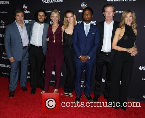 Benito Martinez, Richard Cabral, Penelope Ann Miller, John Ridley, Caitlin Gerard, Elvis Nolasco, Timothy Hutton and Felicity Huffman 6