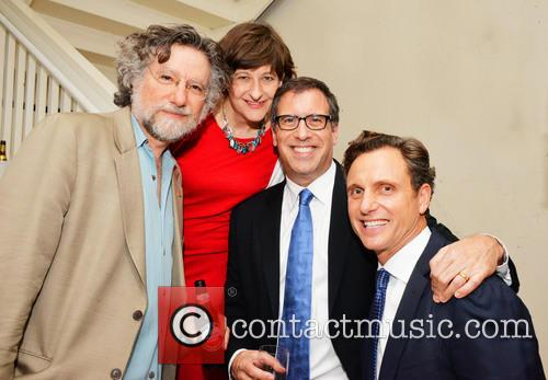 Ted Simon, Marissa Boyers Bluestine, Richard Lagravenese and Tony Goldwyn 2