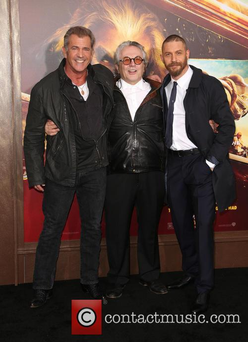 Mel Gibson, George Miller and Tom Hardy 3