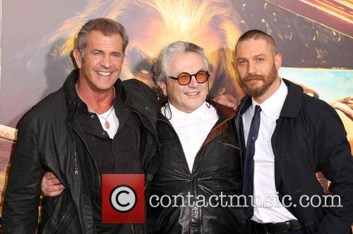 Mel Gibson, George Miller and Tom Hardy 4