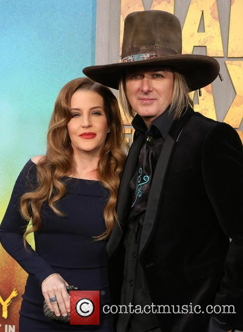 Lisa Marie Presley and Michael Lockwood 1