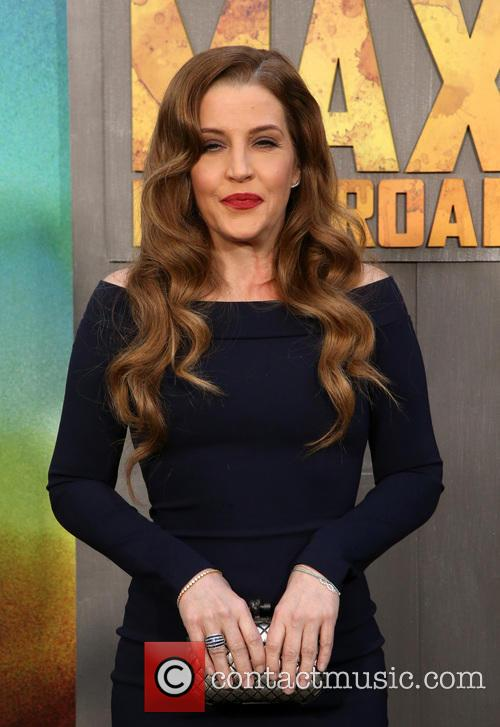 Lisa Marie Presley at the 'Mad Max: Fury Road' premiere