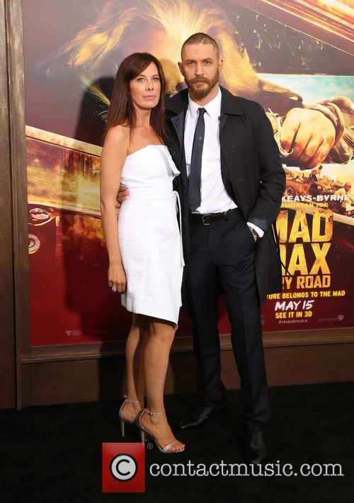 Tom Hardy and Kelly Marcel 2