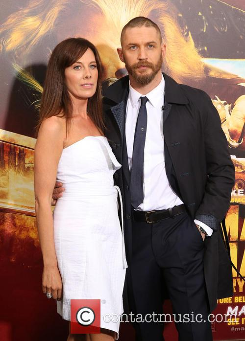 Tom Hardy and Kelly Marcel 4