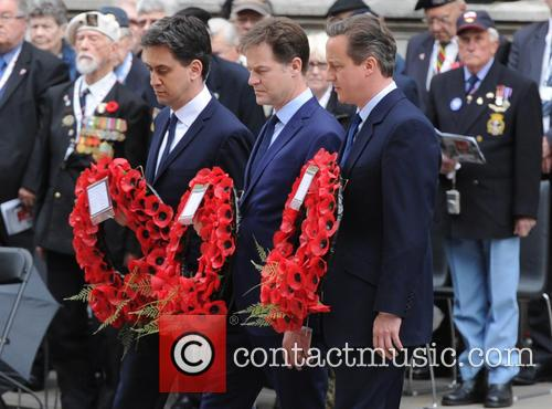 Ed Miliband, David Cameron and Nick Clegg 5