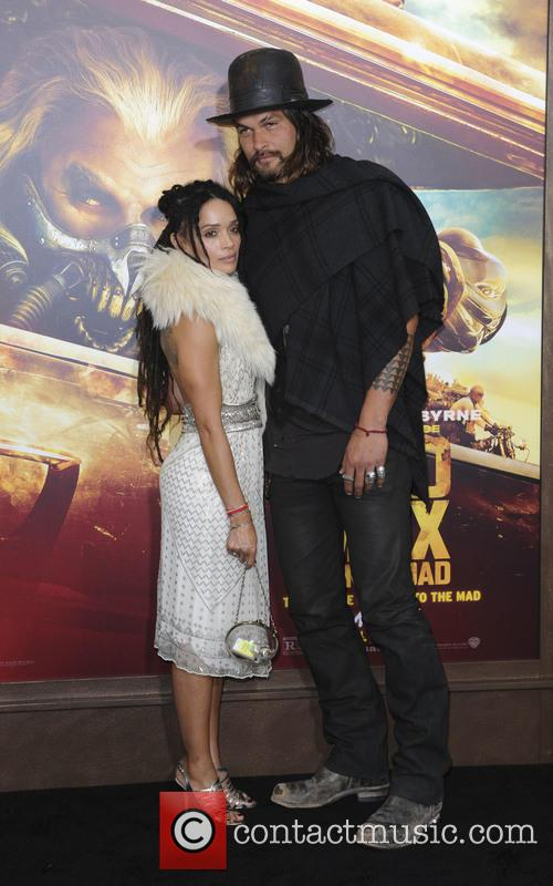 Jason Momoa and Lisa Bonet 3