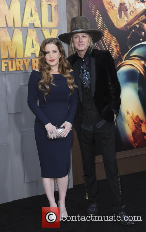 Lisa Marie Presley and Michael Lockwood 2