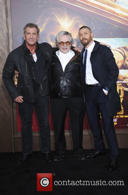 Mel Gibson, George Miller and Tom Hardy 2