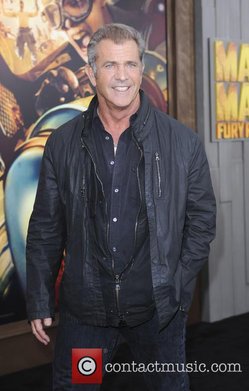Mel Gibson at the Mad Max: Fury Road premiere