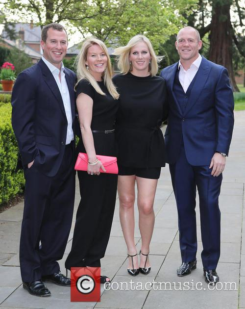 Peter Phillips, Autumn Phillips, Zara Tindall and Mike Tindall 6