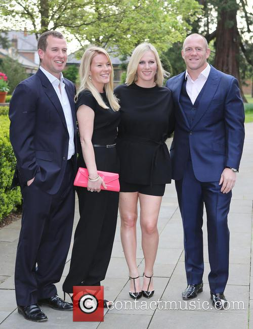 Peter Phillips, Autumn Phillips, Zara Tindall and Mike Tindall 7