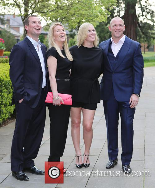Peter Phillips, Autumn Phillips, Zara Tindall and Mike Tindall 8