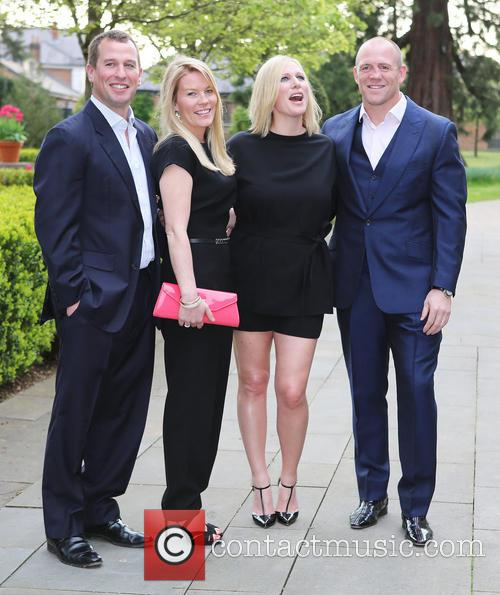 Peter Phillips, Autumn Phillips, Zara Tindall and Mike Tindall 9