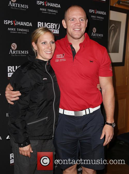 Mike Tindall and Zara Tindall 11