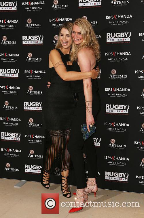 Vogue Williams and Jodie Kidd 6
