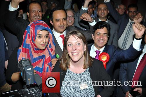 Jess Phillips (labour Mp) and Labour Supporters 7