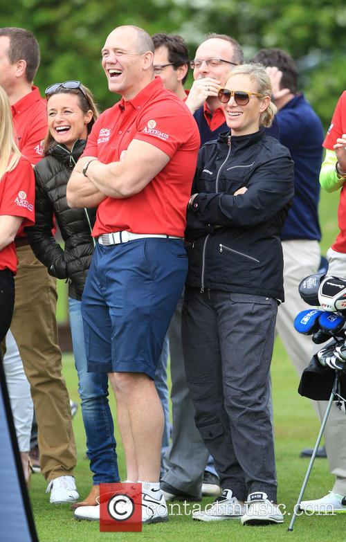 Mike Tindall and Zara Philips 10
